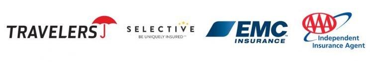 Travelers, Selective, EMC, AAA